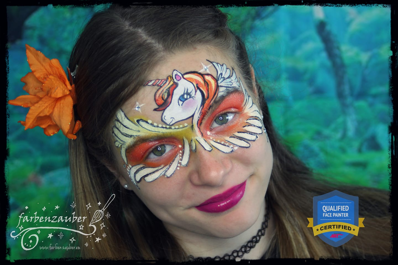 Facepaint Unicorn Mask