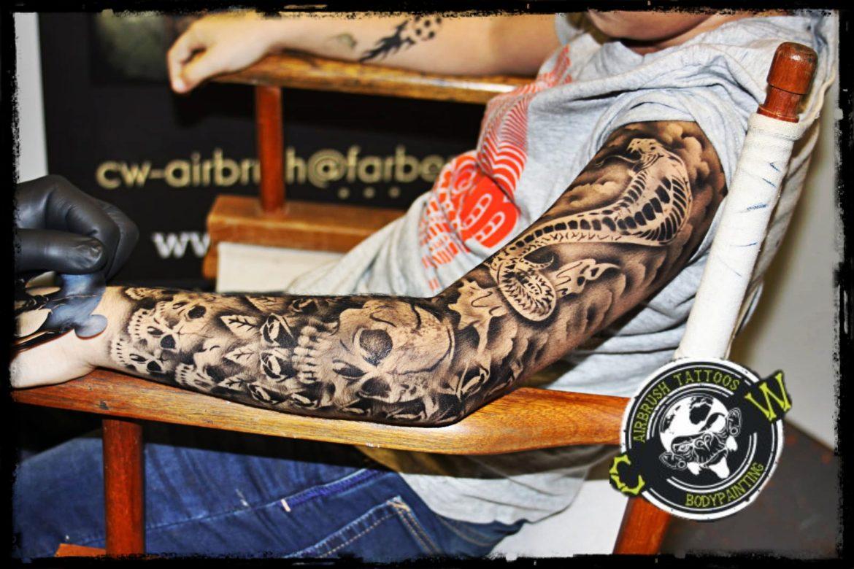 SleeveAirbrush Tattoo