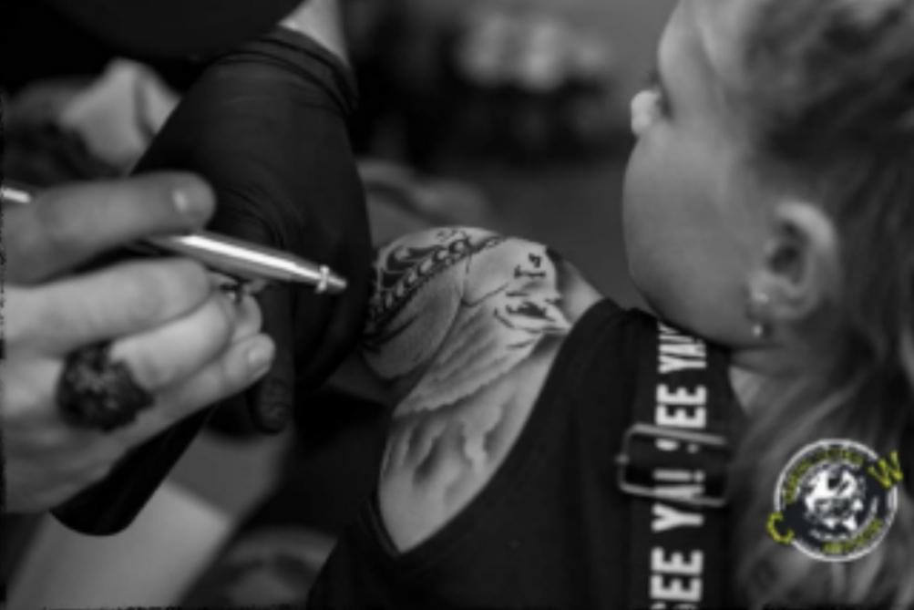 Airbrush Tattoos Carsten