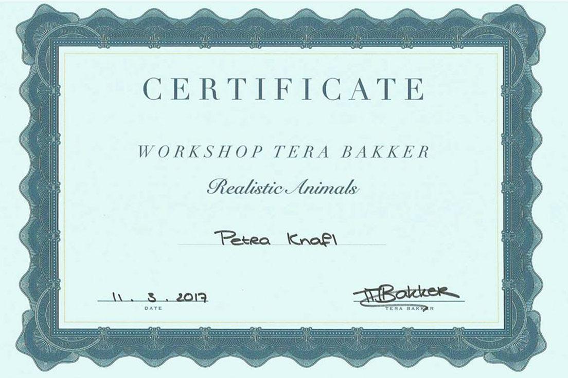 Realistic Animals Workshop Tera Bakker
