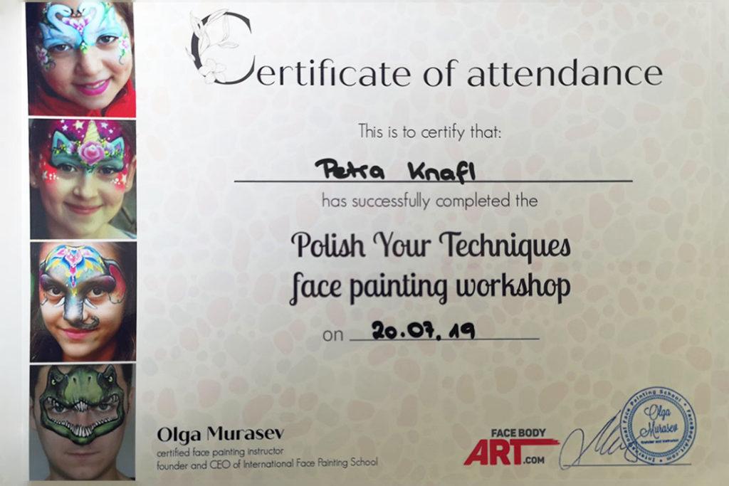 Polish your techniques Workshop